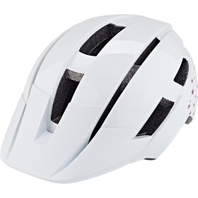 Bell Sidetrack II Casque Adolescents, white stars